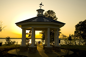 The Riverfront Gazebo