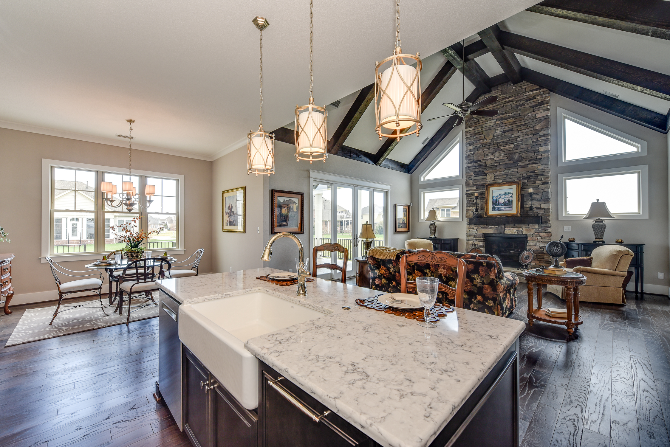 new southern living model home offers a european cottage feel the